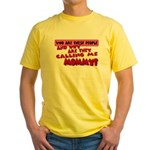Calling Me Mommy Yellow T-Shirt