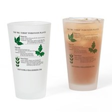 The Big Three Poisonous Plants Drinking Glass