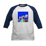Soft Coated Wheaten Terrier Kids Baseball Jersey