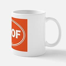 WOOF! Orange Mug