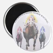 Thoroughbred Racing 2 Magnet