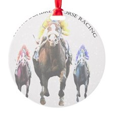 Thoroughbred Racing 2 Ornament