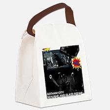 Gotham City Glass Repair Canvas Lunch Bag