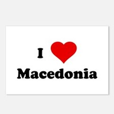 I Love Macedonia Postcards (Package of 8)