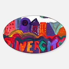 Divercity Sticker (Oval)