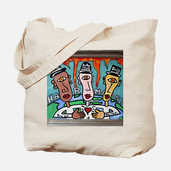 Harmony: Bow Out of the Race Tote Bag