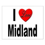 I Love Midland Small Poster