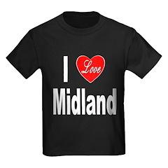 I Love Midland (Front) T