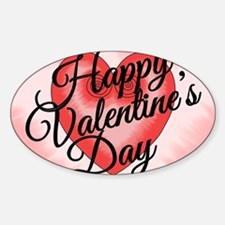 Valentines Day Card Love Artistic P Decal
