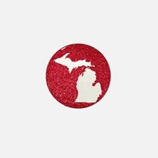 Michigan Mini Button