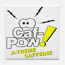 Caf-Pow of NCIS Fame Tile Coaster