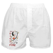 When you play with fire... Boxer Shorts