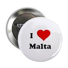 I Love Malta Button