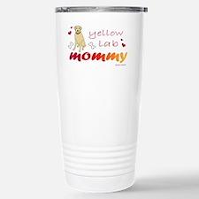 yellow lab Travel Mug