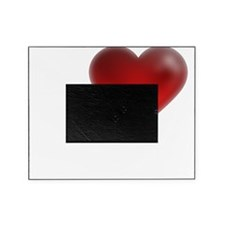 I Heart Anguilla Picture Frame