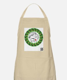 1007A-CHRISTMAS-WREATH-FRONT Apron