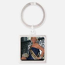 Mrs Global United 2012-13 Square Keychain