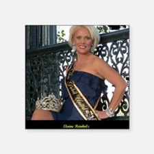 "Mrs Global United 2012-13 Square Sticker 3"" x 3"""
