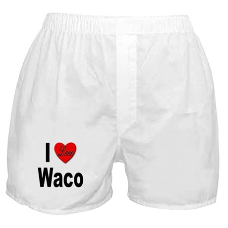 I Love Waco Boxer Shorts