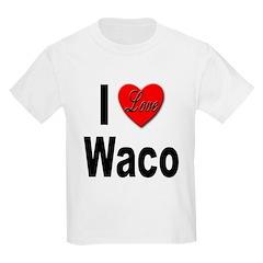 I Love Waco (Front) T-Shirt