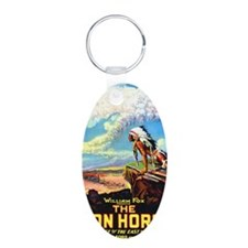 the iron horse Keychains