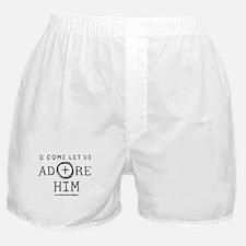Adore Him Boxer Shorts