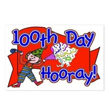 100th Day Wacky Hooray Postcards (Package of 8)