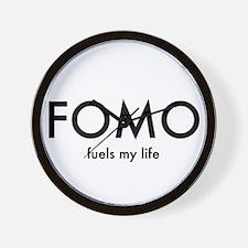 FOMO Wall Clock