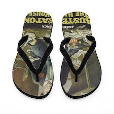 buster keaton Flip Flops