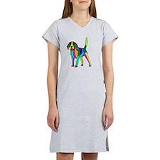 Beagle colored Women's Nightshirt