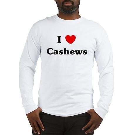 I love Cashews Long Sleeve T-Shirt