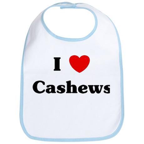 I love Cashews Bib