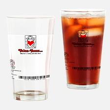 1008A-STAROVERTHUMBBUTTE-BACK Drinking Glass