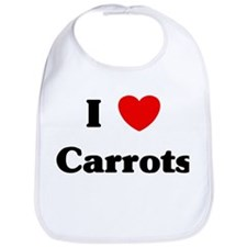 I love Carrots Bib