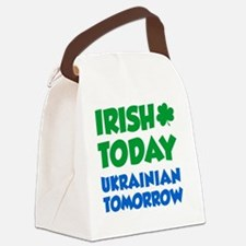 Irish Today Ukrainian Tomorrow Canvas Lunch Bag