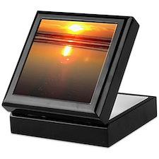 Marina del Rey Sunset Keepsake Box