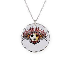 vector soccer ball Necklace
