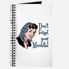 Mantilla Journal