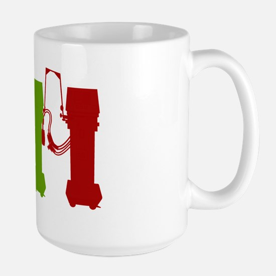 Sometimes you have to vent 3 colors Large Mug