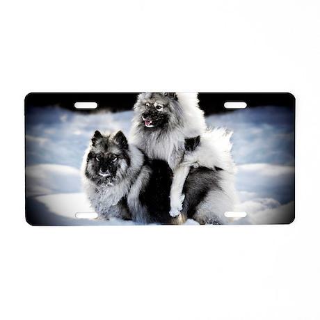 Lexie and Bridget Aluminum License Plate