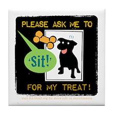 Treat Me Tile Coaster