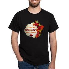 Kirghiz Boyfriend designs T-Shirt