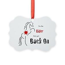 Im the Rider Ornament