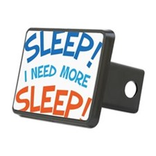 Funny Sleep Quote For Mom Hitch Cover