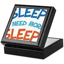 Funny Sleep Quote For Mom Keepsake Box