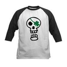 St Patricks Pirate Skull Tee