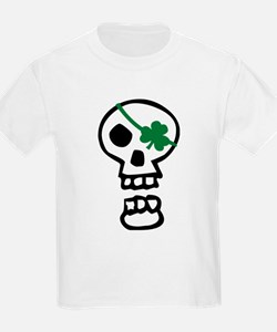 St Patricks Pirate Skull T-Shirt