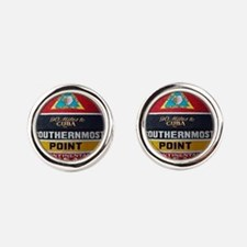 Key West Southern Most Point Monument Cufflinks