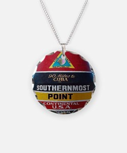 Key West Southern Most Point Necklace