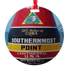 Key West Southern Most Point Monume Ornament